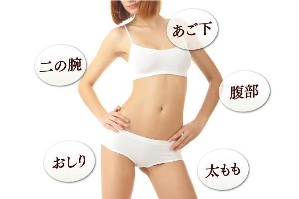 部分痩せを叶える、脂肪吸引の魅力