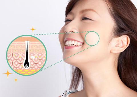 毛穴の特徴や原因を知って、毛穴レス美肌を目指す!