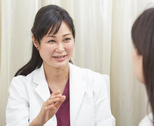 ドクター診察、カウンセリング