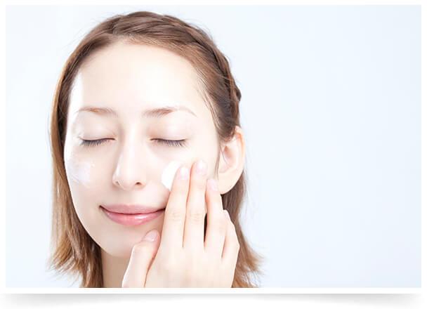 肌環境を整えるピーリング治療イメージ