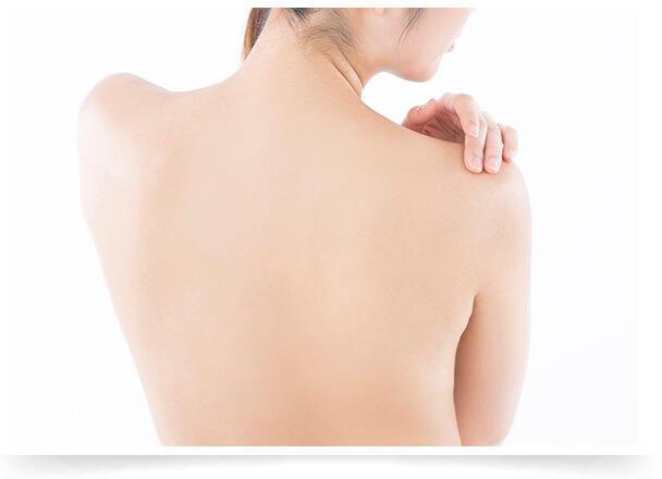 背中の治療法イメージ